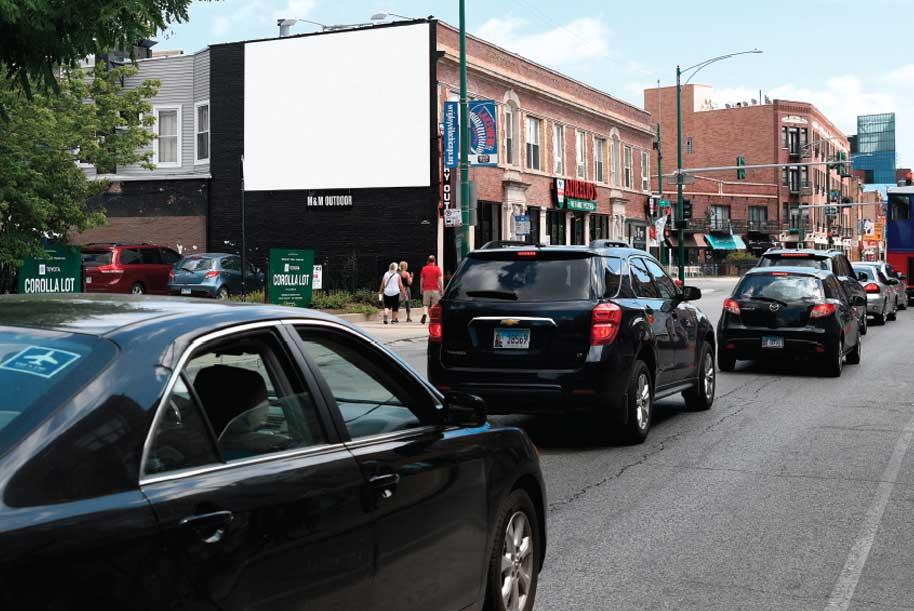 Southeast corner of Clark St. at Grace St.